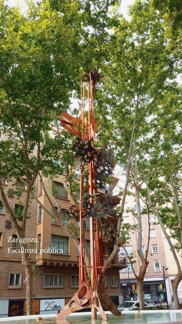Zaragoza. Escultura pública.
